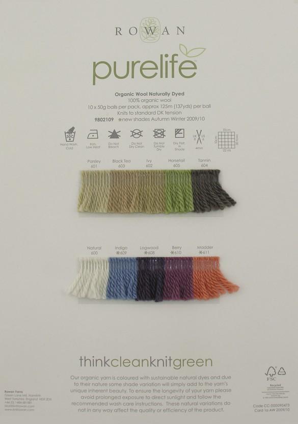 rowan purelife organic wool naturally dyed rowan yarns ryc sirdar
