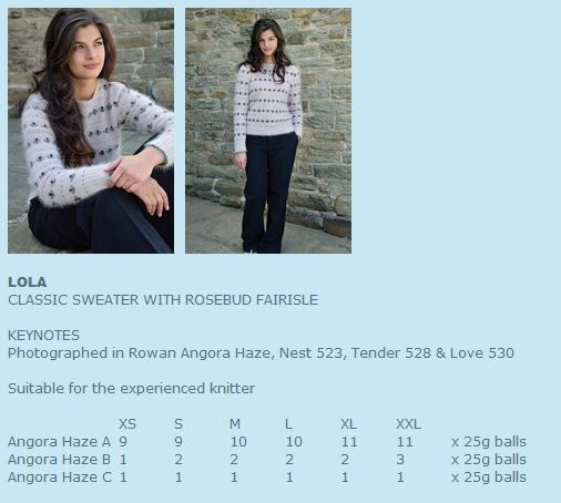 Kim Hargreaves Smoulder Knitting Patterns Rowan English Yarns