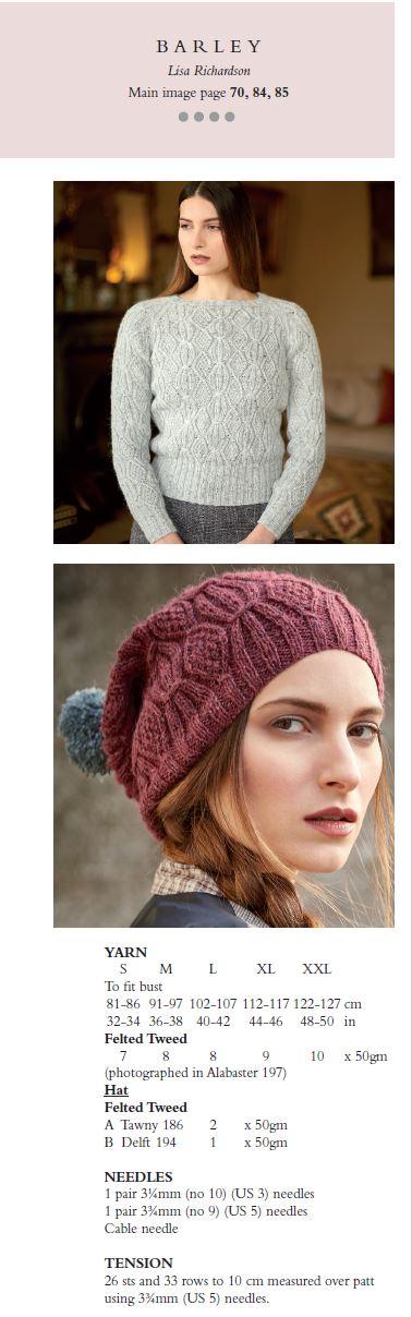 Rowan Yarns Knitting and Crochet Magazine 60 Autumn/Winter 2016 ...