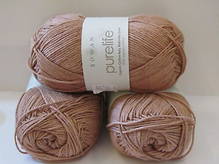 Click to see Rowan Purelife Organic Cotton 4ply Naturally Dyed