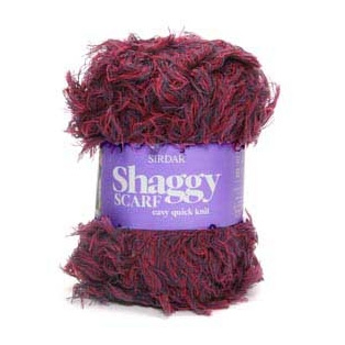Click to see Sirdar Shaggy Scarf