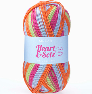Click to see Sirdar Heart & Sole 4 Ply