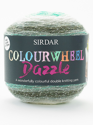 Click to see Sirdar Colourwheel Dazzle