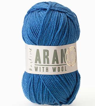 Click to see Sirdar Hayfield Aran With Wool 100g