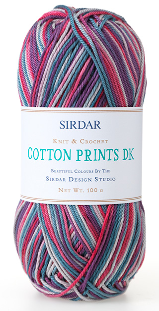 Click to see Sirdar Cotton Prints DK
