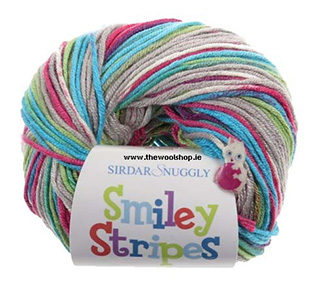Click to see Sirdar Snuggly Smiley Stripes DK