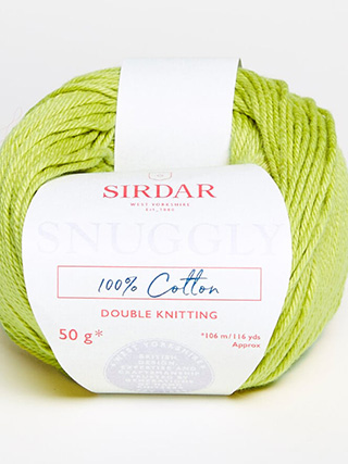 Click to see Sirdar Snuggly 100% Cotton