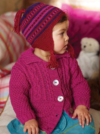 Связать детскую шапку спицами довольно легко и не занимает много времени.