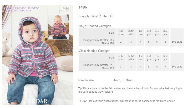 Sirdar Baby Crofter Dk - Rowan Yarns RYC Sirdar Sublime English ...