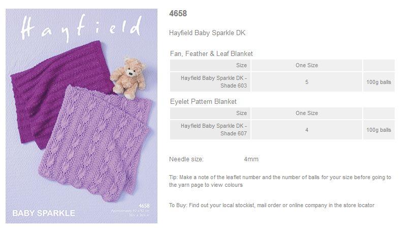 Sirdar Pattern Leaflets Using Hayfield Baby Sparkle Dk Rowan Yarns