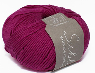 Click to see Sublime Extra Fine Merino Wool 4ply